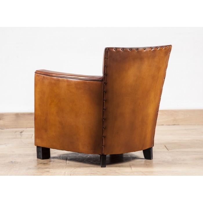 fauteuil club art deco fauteuil club cuir pleine fleur. Black Bedroom Furniture Sets. Home Design Ideas