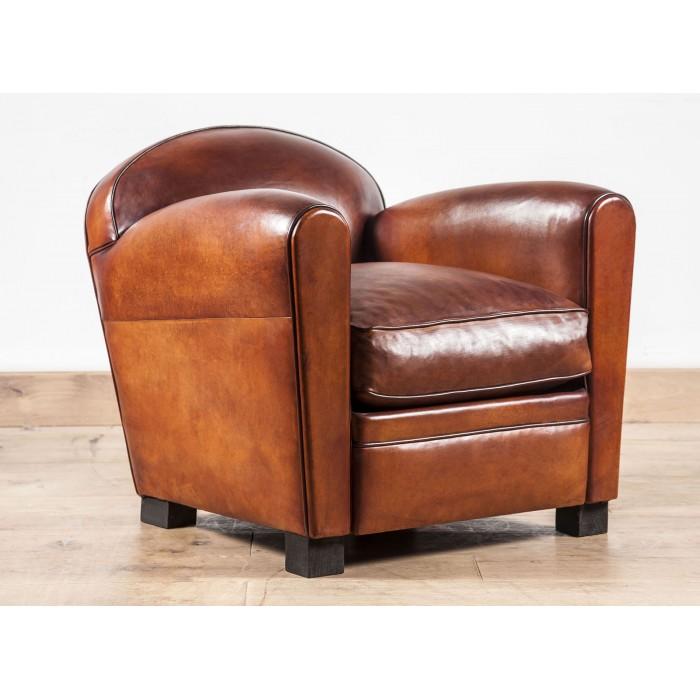 club chair le nil leather club armchair made in france in paris b jannin paris