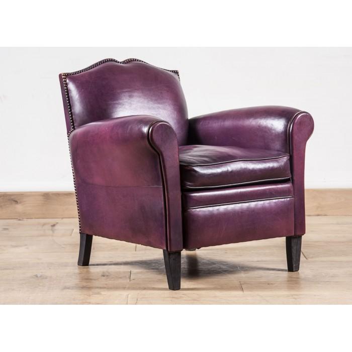 fauteuil club cuir le moustache b jannin paris. Black Bedroom Furniture Sets. Home Design Ideas