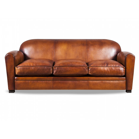 Leather club sofa Béjannin Paris