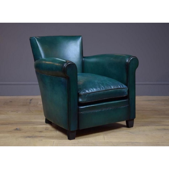 fauteuil club design cuir pleine fleur fauteuil club grand parisien b jannin paris. Black Bedroom Furniture Sets. Home Design Ideas
