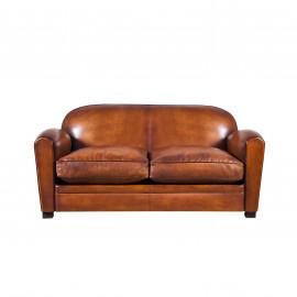 Leather club sofa Béjannin Paris