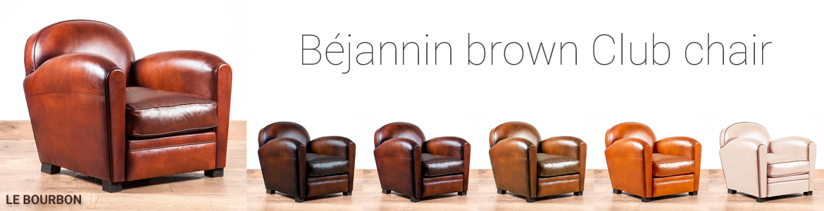 Brown club chair