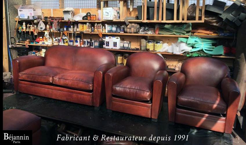 Fabricant fauteuil club cuir Paris