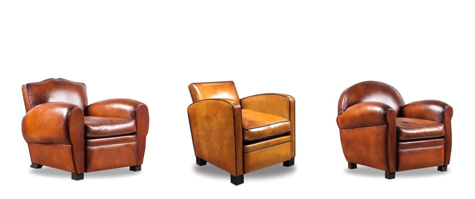 Fauteuil club cuir : le fauteuil confortable
